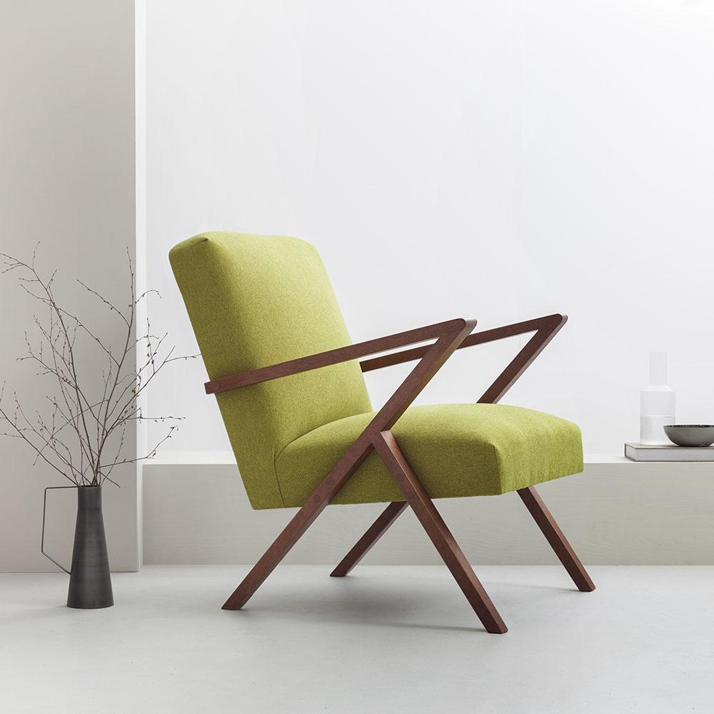 Leuke Design Fauteuil.Retrostar Basic Design Fauteuil Groen