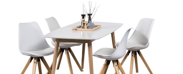 Te Koop Eettafel Met 6 Stoelen.Complete Eethoek Kopen Meubelen Online