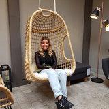 Hangstoel Fauteuil Cosi rotan stoel_