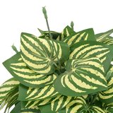 Kunstplant met pot watermeloenplant 45 cm groen_