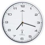 Wandklok met quartz uurwerk radiogestuurd 31 cm wit_