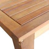 Bartafel Roger 60x60x105 cm massief hout_