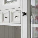 Buffetkast glazen deuren en lades Wittevilla detail