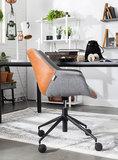 Bureaustoel Doulton vintage met armleuningen Zuiver design sfeer