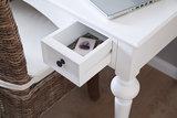 Nova solo Bureau Cottage wit hout met lades detail