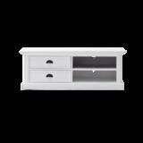 Nova solo - TV-meubel Wittevilla 120cm wit met lades en open vakken