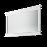 Nova solo - Spiegel Wittevilla wit hout 120x70cm breedte