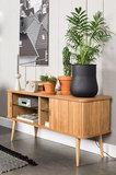 Zuiver - Dressoir Barbier sideboard hout design sfeer