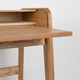 Bureau Barbier hout design merk Zuiver detail