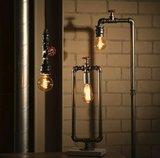 Expo Trading - Wandlamp Fire Hose vintage zilver industrieel sfeer