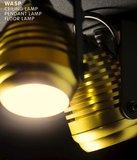 Expo Trading - Spot Wasp met kapje goud plafondlamp sfeer
