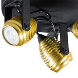 Expo Trading - Spot Wasp met drie kapjes goud plafondlamp detail