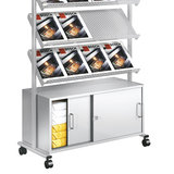 Kerkmann- Folderhouder Prospect display met opbergruimte kastgedeelte