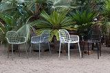Meubelen-Online - Tuinstoel Albert Kuip wit aluminium merk Zuiver sfeer