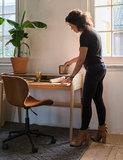 Meubelen-Online - Bureaustoel OMG bruin design merk Zuiver sfeer