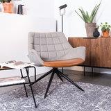 Meubelen-Online - Fauteuil Doulton Lounge vintage merk Zuiver sfeer