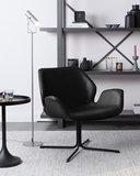 Fauteuil Nikki zwart design merk Zuiver_