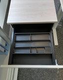 Kerkmann - Verleng ladeblok grijs hoogte verstelbaar pennenbak