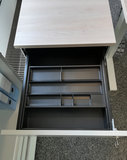 Kerkmann - Verleng ladeblok wit hoogte verstelbaar pennenbak