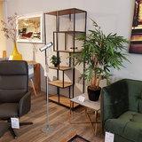 Meubelen-Online - Boekenkast Honkytonk 185cm asymmetrisch wild eiken sfeer