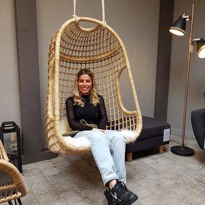 Hangstoel Fauteuil Cosi rotan stoel