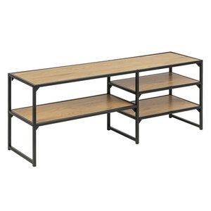 Meubelen-Online - TV-meubel Honkytonk 120x33x46cm wild eiken