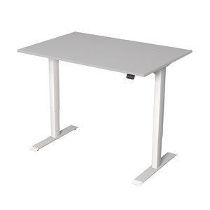Meubelen-Online - Zit sta bureau Move-1 licht grijs 120x80 elektrisch verstelbaar