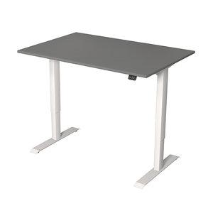 Meubelen-Online - Zit sta bureau Move-1 grijs 120x80cm elektrisch verstelbaar