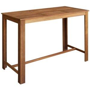 Bartafel Roger 150x70x105 cm massief hout