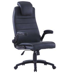 Meubelen-Online - Bureaustoel Ernst ergonomisch verstelbaar zwart