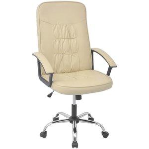 Meubelen-Online - Bureaustoel Daman ergonomisch creme wit