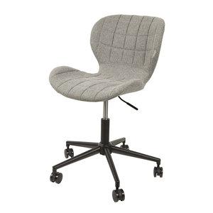 Meubelen-Online - Bureaustoel OMG grijs design merk Zuiver