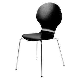 Vlinderstoel zwart eetkamerstoel