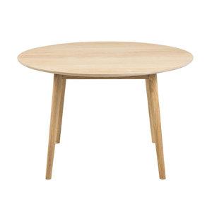 Eettafel Ontario rond eiken hout design
