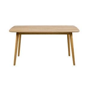 Eettafel Ontario eiken hout design 150x80cm