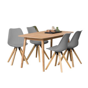 eethoek player grijs set tafel met vier stoelen. Black Bedroom Furniture Sets. Home Design Ideas