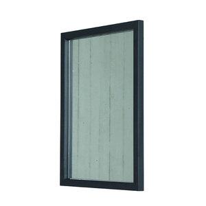 Spiegel Rino metaal zwart Blacksmith Spinder design