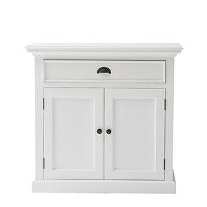 Novo solo - Buffetkast Wittevilla wit medium deuren en lade