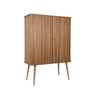 Kast Barbier Highboard Hout Design Merk Zuiver