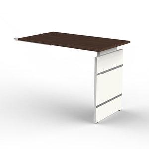 Kerkmann - Bureau Office desk extension 100cm bruin hoogte verstelbaar