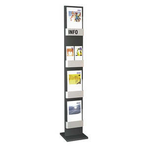 Kerkmann - Folderhouder Info staande vloer display enkel