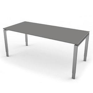 Kerkmann - Eettafel Beta 180cm grijs hoogte verstelbaar