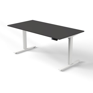 Kerkmann - Bureau Move-1 antraciet 160x80cm elektrisch verstelbaar