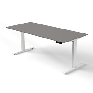 Kerkmann - Bureau Move-2 grijs 180x80cm elektrisch verstelbaar