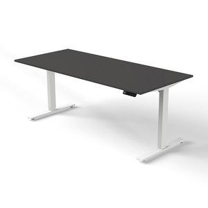 Kerkmann - Bureau Move-2 antraciet 180x80cm elektrisch verstelbaar