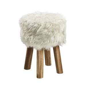 Meubelen-Online - Krukje Sheep stof schapenvacht