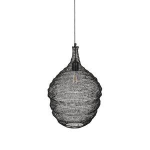 Meubelen-Online - Hanglamp Messy small zwart detail
