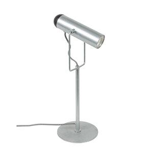 Zuiver - Tafellamp Marlon gegalvaniseerd Led bureaulamp zijaanzicht