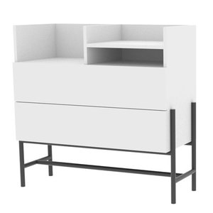 Design Dressoirs En Ladekasten.Ladekast Norse Wit Design Dressoir