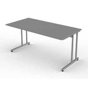 Kerkmann - Bureau Profi grijs 160cm